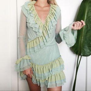Dresses & Skirts - Hot As Hell Ruffle Dress